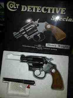 Revolver Colt Detective