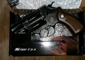 Revolver 733 Black