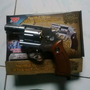 Revolver M36 RCF Crome-Silver